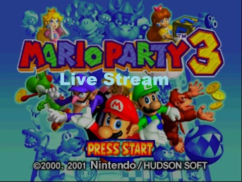 mario party 3 wii u live stream no commentary youtube. Black Bedroom Furniture Sets. Home Design Ideas