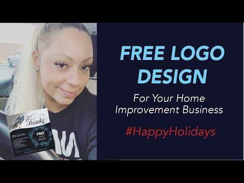 FREE Logo Re-Design, Logo Upgrade, New Logo for Home Improvement Businesses: Aluminum Contractors