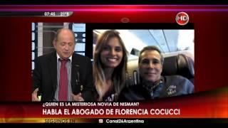 Caso Nisman: habla el abogado de Florencia cocucci