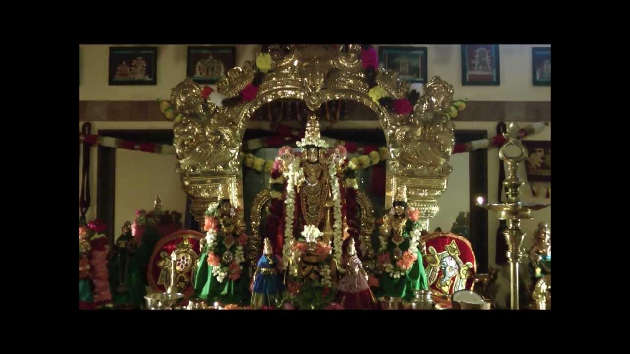 thiruvaradhanam video
