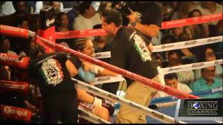 Fight salazar vs Jimenez sd