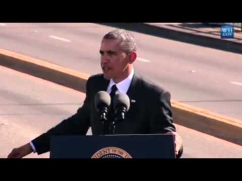 """Obama at Selma: """"Voting Rights Act stands weakened"""""""