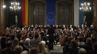Saint-Saens Cello Concerto No.1 (excerpts), Lida Limmer, Passau Univ. Orchestra, Eleni Papakyriakou