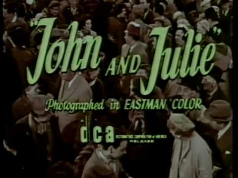 John and Julie 1955 theatrical trailer