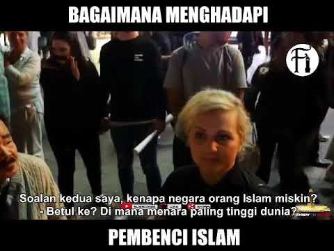 Dakwah Islam di Ingris - Wanita ini MENGHINA ISLAM Tanpa Alasan