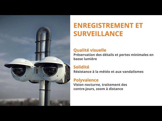 Sécurisation de toiture ? - Radar Axis D2110 VE et haut-parleurs Axis C1310 E (1/2)