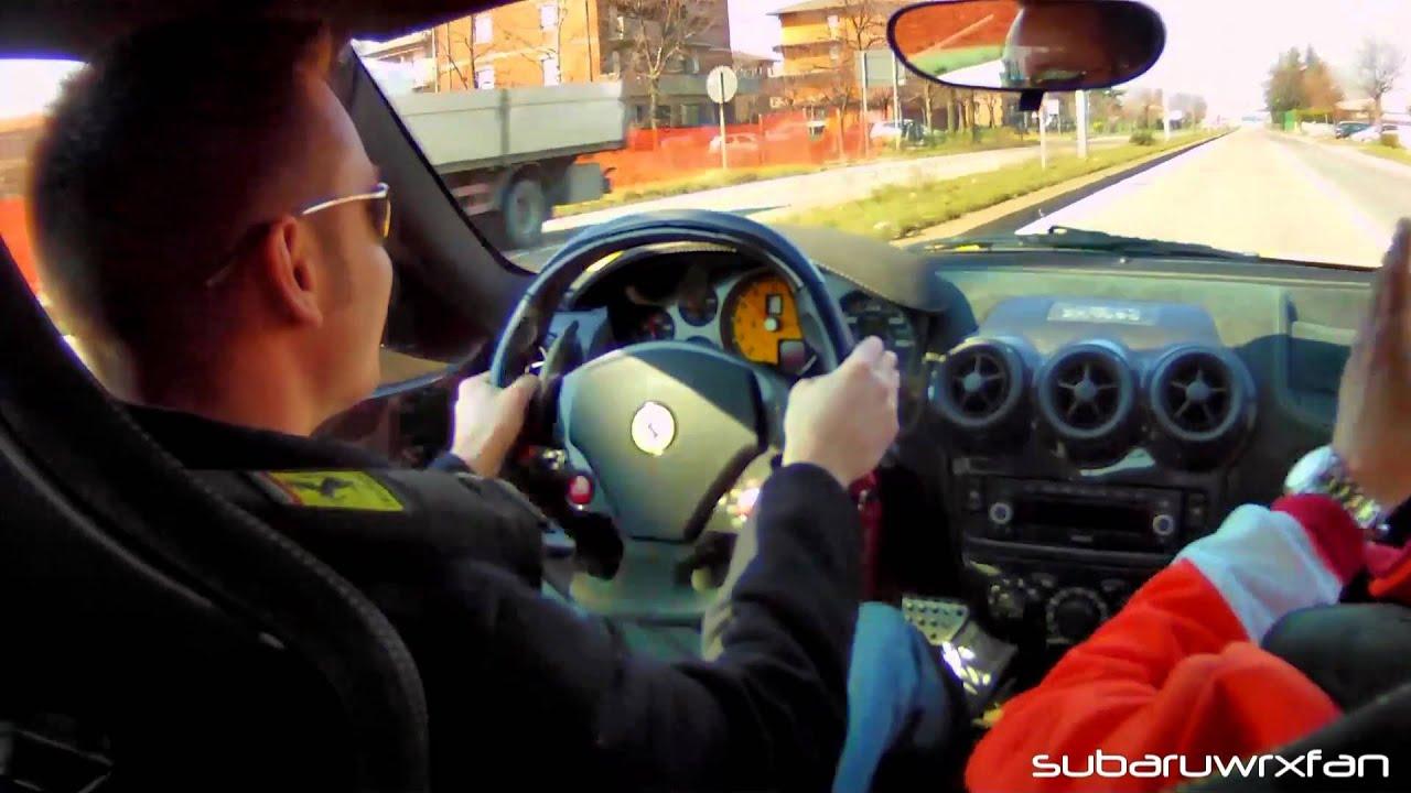 DRIVING A Ferrari 430 Scuderia!!!