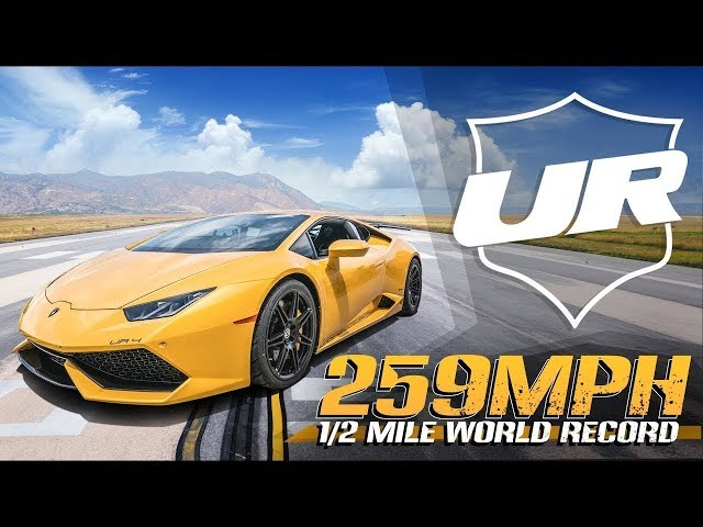 3500HP Lamborghini BLASTS to 259MPH - Half Mile World Record! Underground Racing