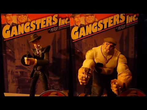 Mezco Gangsters Inc. Figures Review Part Two of Two 2/2