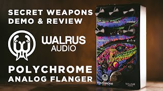 Walrus Audio Polychrome Analog Flanger   Secret Weapons Demo & Review