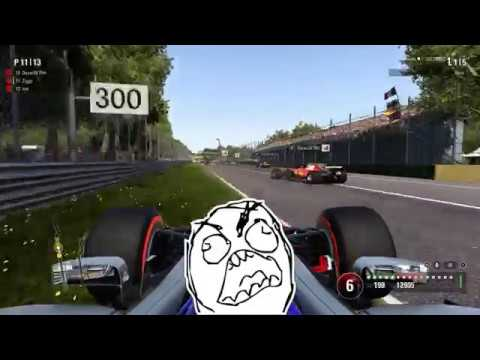F1 2017 online open lobby - battles, crashes, idiots, dirty drivers part 10