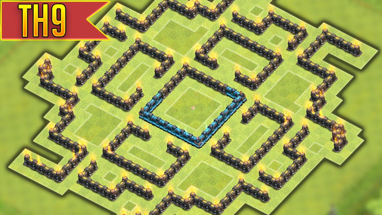Base Coc Th 9 Labirin 4