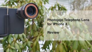 iPhone 4 Telephoto Lens by Photojojo Review