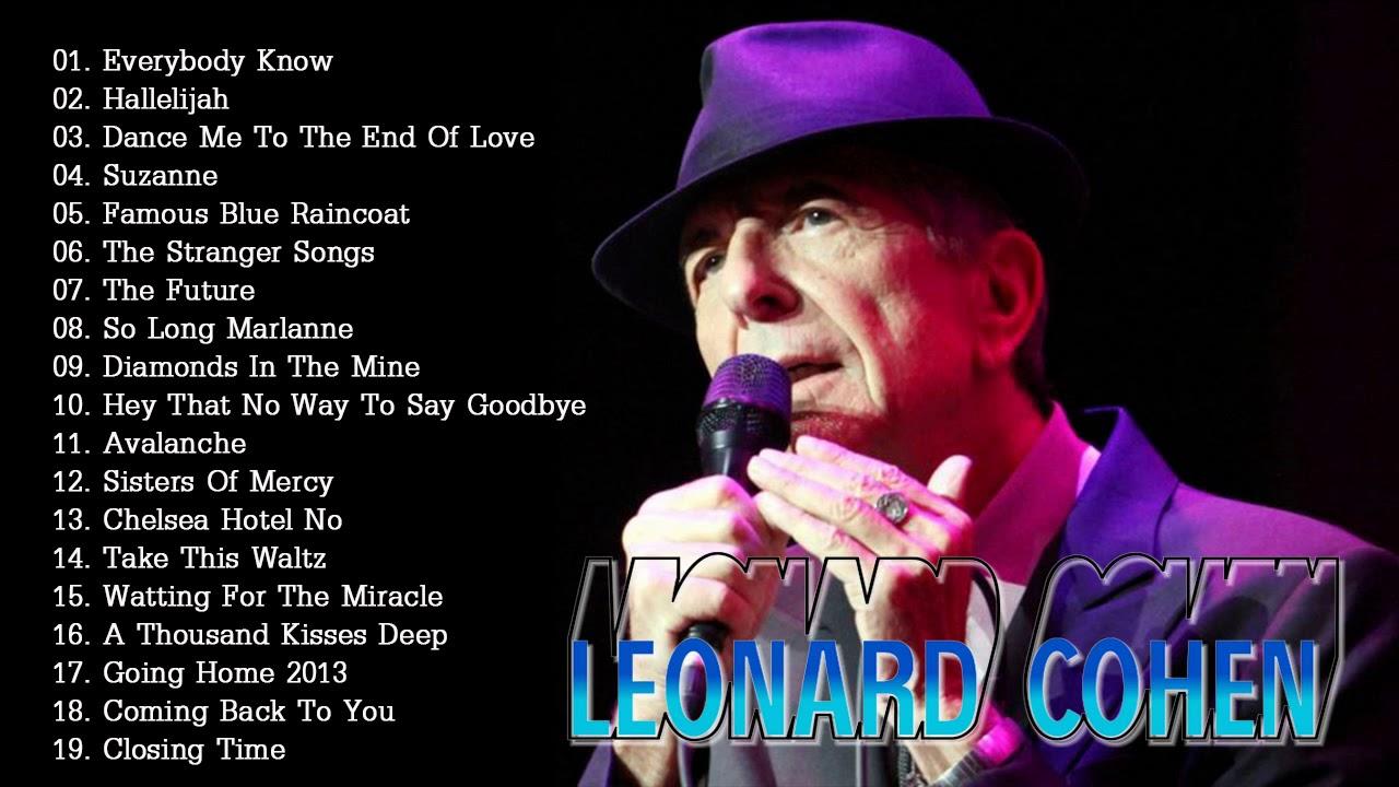 leonard cohen discografia download