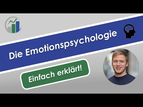 Emotionspsychologie - Emotionen Psychologie einfach erklärt