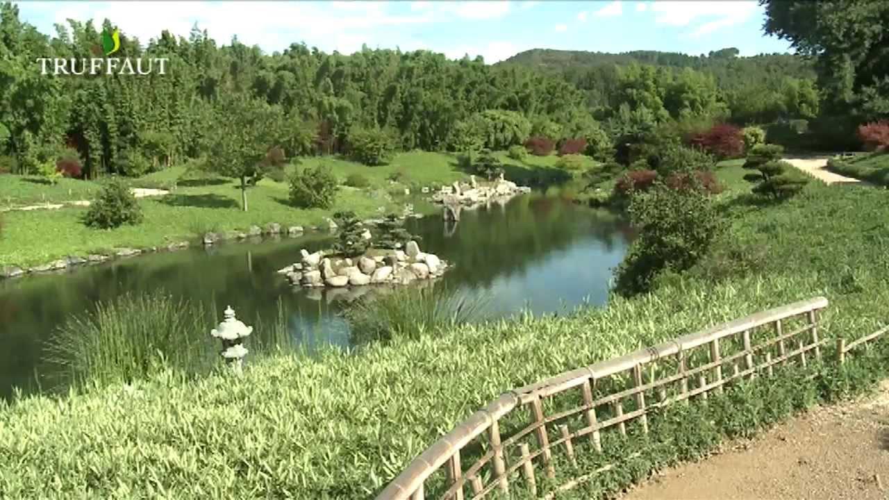 Le jardin japonais de la bambouseraie d 39 anduze for Fontaine de jardin truffaut