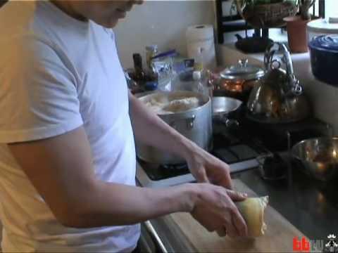 Cooking Bamboo: Joi Ito, Ryuichi Sakamoto (Boing Boing tv)