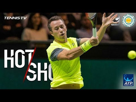 Watch: Kohlschreiber Fools Federer With Touch Hot Shot Rotterdam 2018