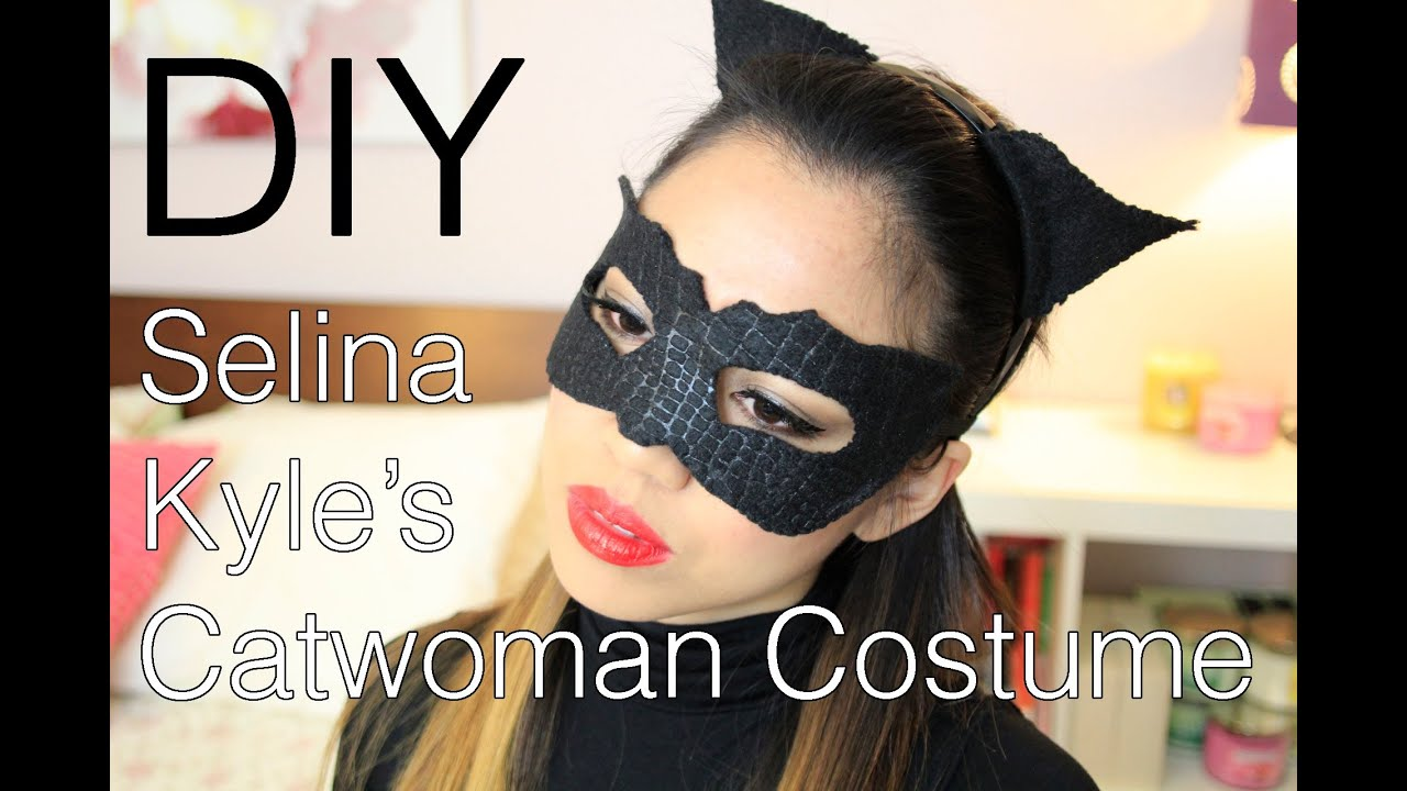 Catwoman Ohren Halloween Diy Selina Kyle Catwoman The Dark Knight Rises Costume Makeup And Hair
