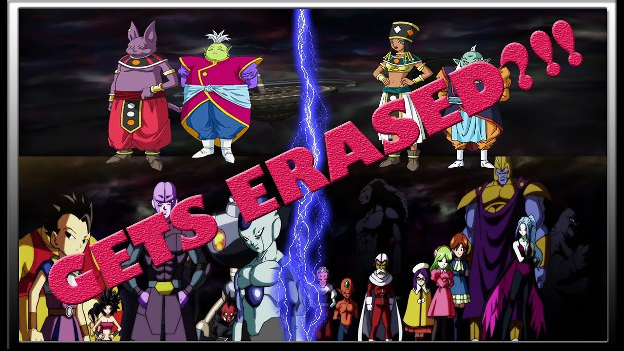Universe 2 And 6 Gets Erased Dragon Ball Super Episode 118 Dragon Ball Super Theory