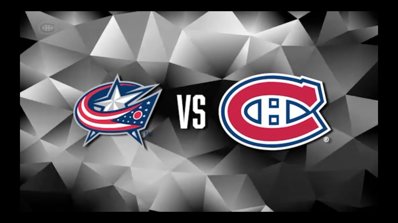 Avant-match/Pre-Game  Canadiens VS Blue Jackets (01-12-15) - YouTube