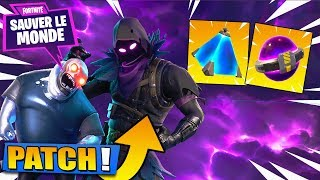 Pacth 4.0: Mythical Hero, Improved Turret - Carcass Loot! Fortnite Saving the World