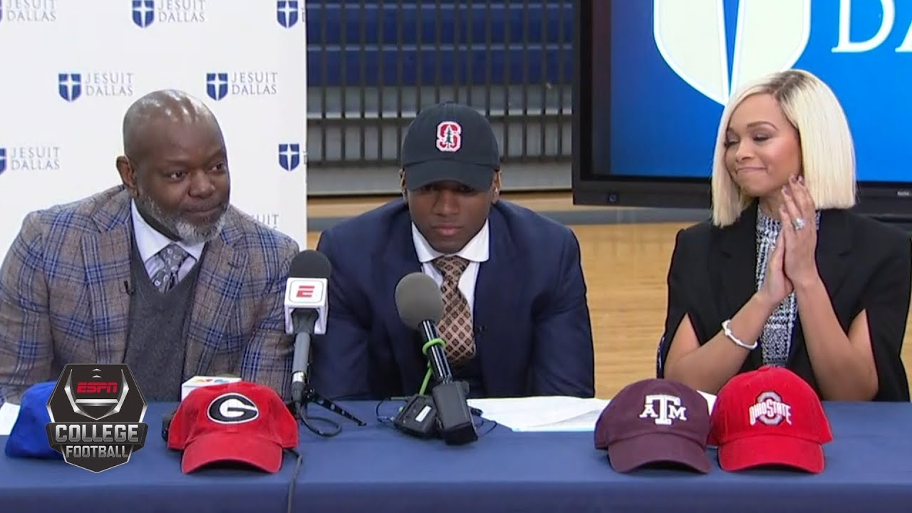 Stanford signs Emmitt Smith's son  yet another recruit whose ...