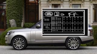 Range Rover Tyre Pressure Monitoring System TPMS