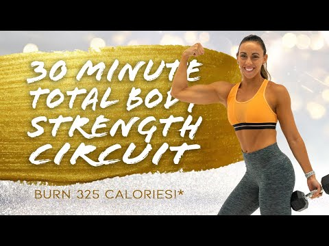 30 Minute Total Body Strength Circuit Workout! 🔥Burn 325 Calories!* 🔥Bonus Day 2 | RC90