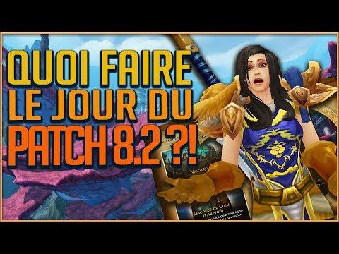 QUOI FAIRE LE JOUR DU PATCH 82  GUIDE DE SURVIE