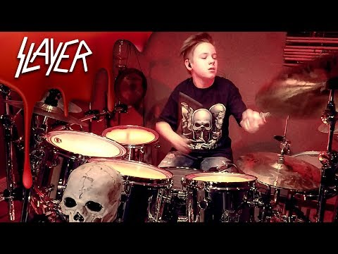 RAINING BLOOD - SLAYER - Drum Cover by Avery Drummer