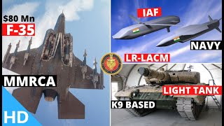 Indian Defence Updates : F-35 In MMRCA,New 1000Km LRLACM Cleared,K9 Based Light Tank,ParaSF Deployed
