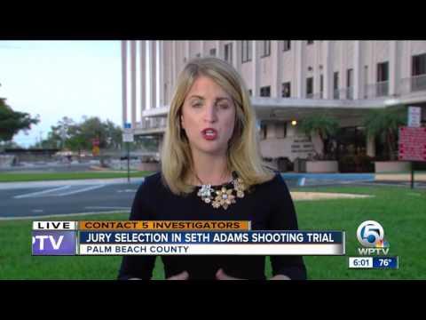 Jury selection in Seth Adams shooting trial
