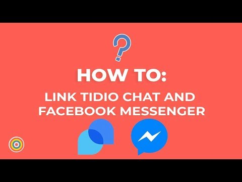 How To Link Tidio Chat And Facebook Messenger - E-commerce Tutorials