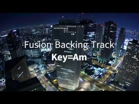 Jazz / Fusion Backing Track Am Dorian mode