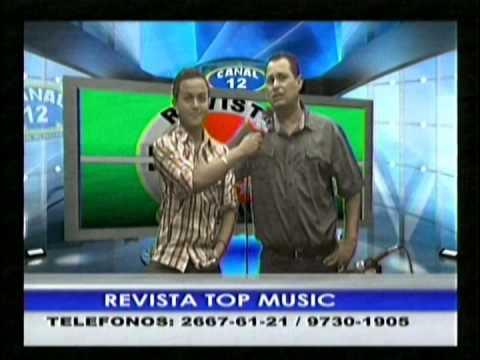 ALCALDE mario alexi caballero en REVISTA TOP MUSIC CANAL 12 LA SEÑAL DEL DESARROLLO