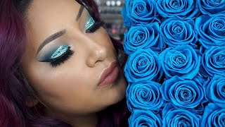 Inspired Glitter Date Night Makeup Tutorial + Giveaway