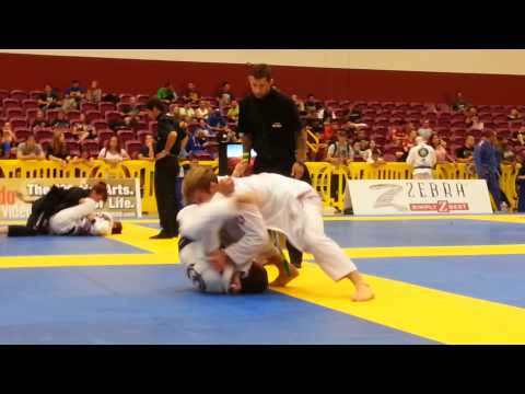 AJ Agazarm vs Samir Chantre - Black Belt adult Open class - Semi Final American National 2013