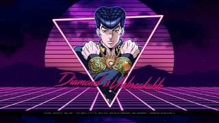 Diamond Is Unbreakable (Josuke's Theme synthwave retro 80's remix)