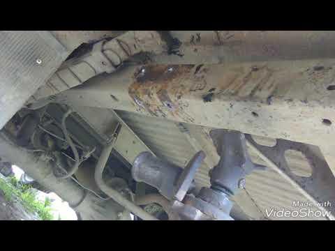 Делаю под-рессорное крепления на УАЗ буханка