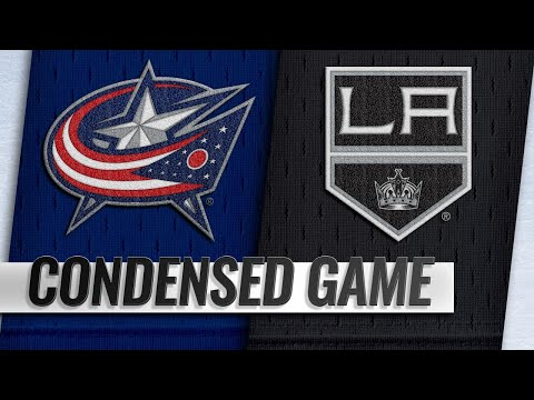 Condensed Game: Blue Jackets @ Kings