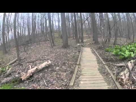 Mountain Biking Lewis Morris 4-15-12