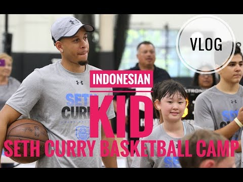 FOUND AN INDONESIAN KID AT SETH CURRY BASKETBALL CAMP!