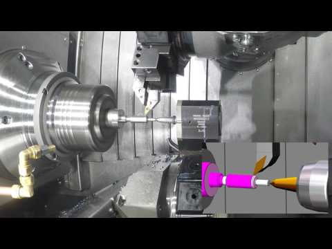 MILL-TURN - INDEX G200_Eureka Virtual Machining 8.5