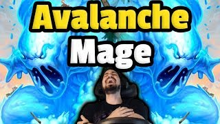 Abominable Avalanche BLOWOUT - Combo Elemental Mage - Hearthstone Descent Of Dragons