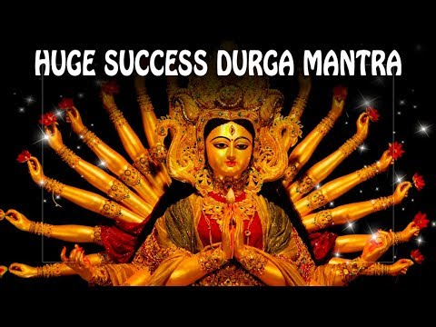 Huge Success Durga Mantra to remove obstacles and become Lucky Durga  Gayatri mantra