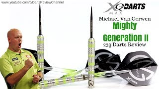 XQ Max Michael van Gerwen Mighty Generation 2 23g darts review