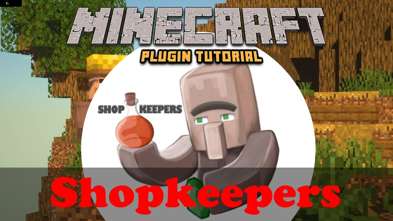 Overview - Shopkeepers - Bukkit Plugins - Projects - Bukkit