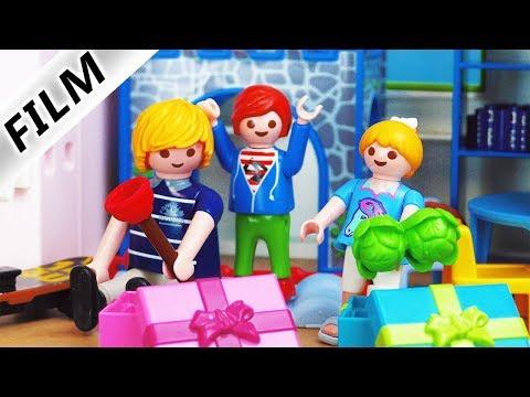 Playmobil Film deutsch   JULIANS verrückte What's inside the mystery BOX CHALLENGE   Kinderserie