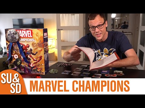 Marvel Champions Review - Gambit-Level Cardplay